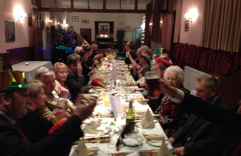 Christmas Supper Club at the Hickman Hill Hotel
