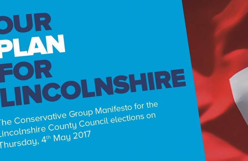 Our Plan for Lincolnshire - Manifesto