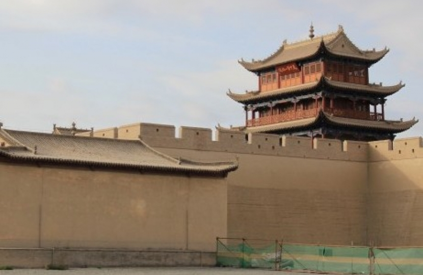 Along the Silk Road of Western China