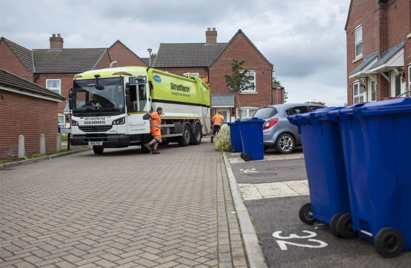 West Lindsey Refuse Collection Service