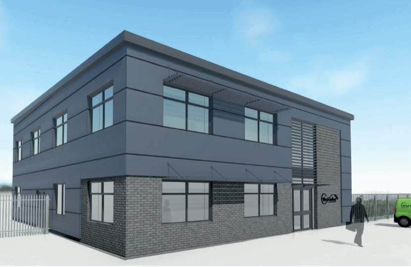 Artists impression of the new Depot