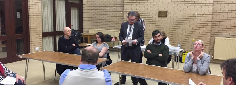 Returning Officer Announces the Result of the Sudbrooke ward By-Election