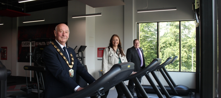 Cllr. Steve England, Cllr. Cordelia McCartney and Cllr. Giles McNeill