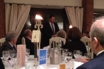 Andrew Percy MP addresses Supper Club guests