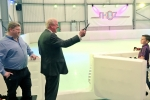 Sir Edward Leigh opens the SK8z 'off-ice' rink in Gainsborough