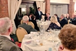 Robert Jenrick MP addresses the Supper Club