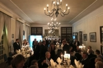 Guests take their seats for dinner at Hemswell Court for the 2017 Constituency Dinner