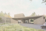 Artist's impression of West Lindsey's planned crematorium