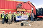 Turf Cutting Ceremony by LACE Housing in Nettleham