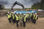 Market Rasen Leisure Centre Turf Cutting Ceremony
