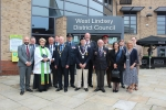 Armed Forces Day Flag Rasing Ceremony at West Lindsey District Council's Guildhall