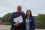 Sir Edward Leigh MP and Cllr. Jane Ellis