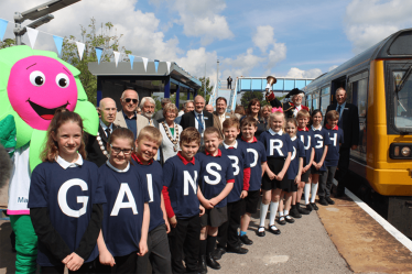 Launch of Hourly Rail Service at Gainsborough Central